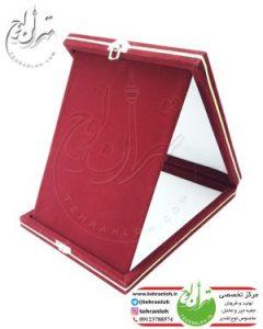 جعبه جیر خام لوح تقدیر قرمز